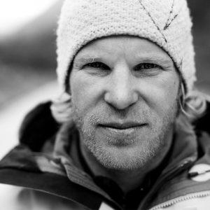 Albert Leichtfried and Benedikt Purner are ice-climbing in Tibet.